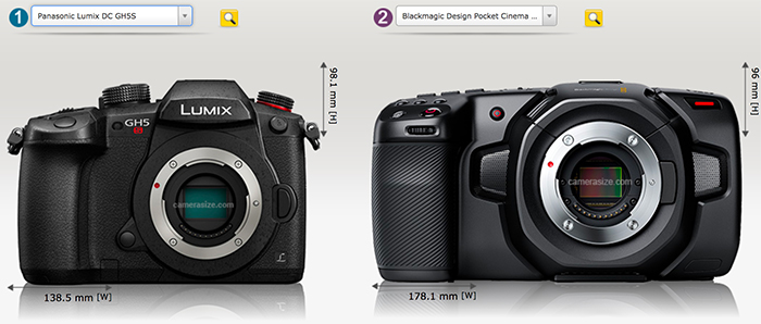 The Blackmagic 4k Pocket Cinema Mft Camera Officially Announced Photo Rumors