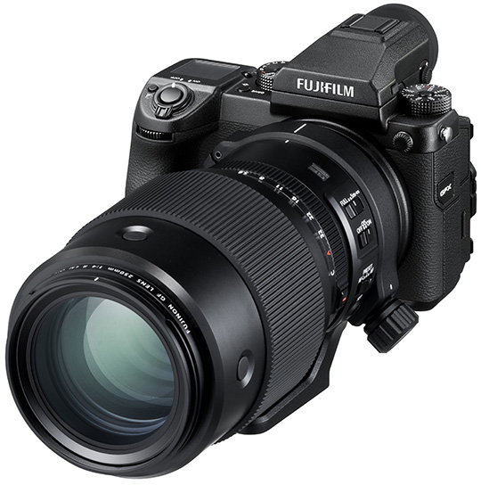 Fujifilm Fujinon GF 250mm f/4 R LM OIS WR lens, adapters and new firmware updates officially announced