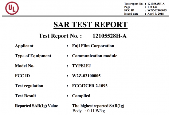 Fujifilm registered a new camera with the FCC (with a list of all rumored/expected Fuji cameras)