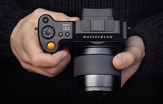 Both Hasselblad X1D medium format mirrorless cameras listed as discontinued at B&H