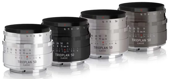 Meyer Optik announced a new Trioplan 50 f/2.9 Classic lens