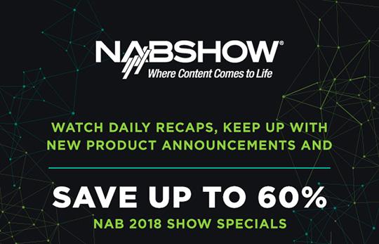 NAB show deals