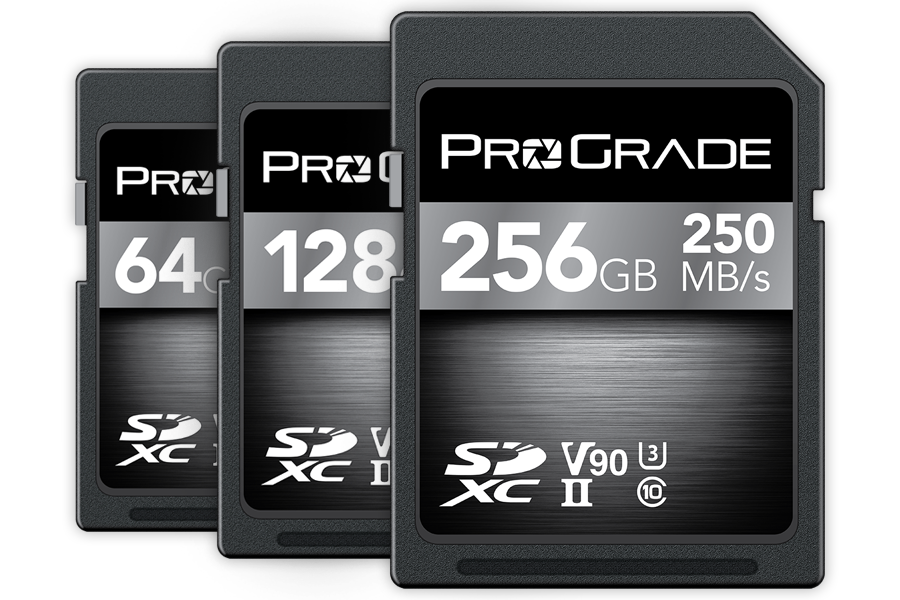 New from ProGrade Digital: CFexpress 1TB and SDXC UHS-II V90