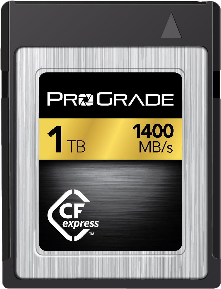 New From Prograde Digital Cfexpress 1tb And Sdxc Uhs Ii V90 Memory