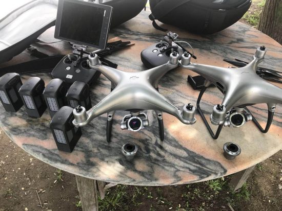 New leaked pictures of the upcoming DJI Phantom 5 drone with interchangeable lens camera