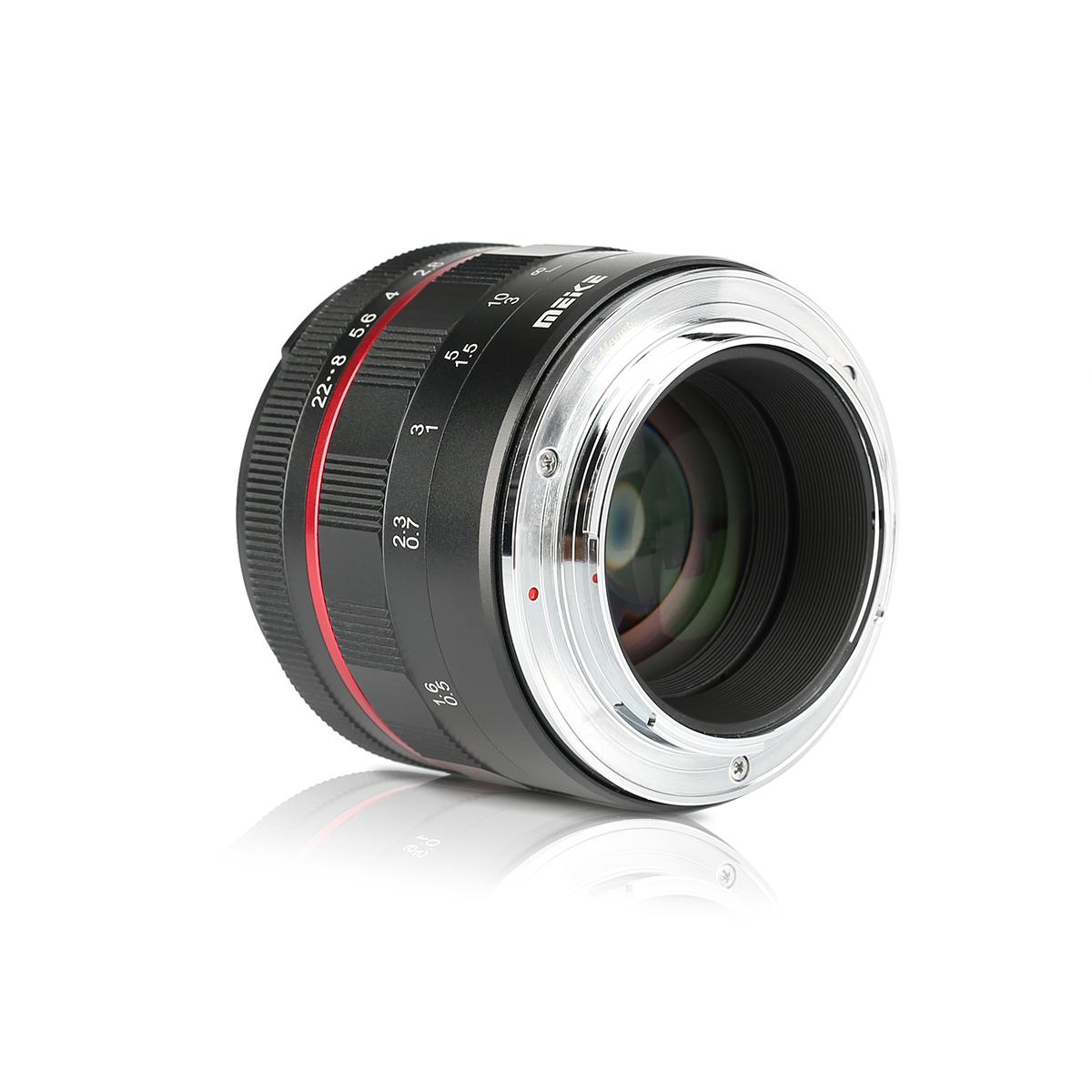 New Meike 50mm f/1.7 full frame manual focus lens for Sony E-mount ...