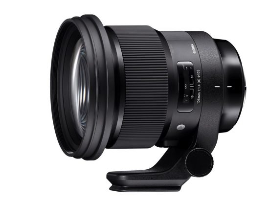Sigma 105mm f/1.4 DG HSM Art lens available for pre-order at $1,599