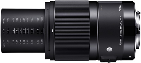 The new Sigma 70mm f/2.8 DG Macro Art full frame lens to be priced around $500