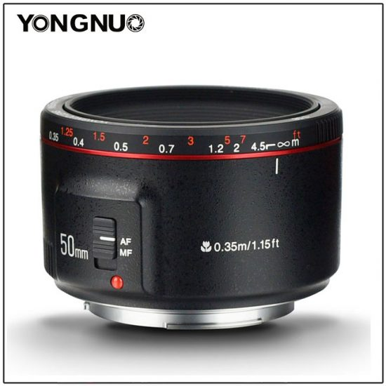 New Yongnuo YN 50mm f/1.8 II lens