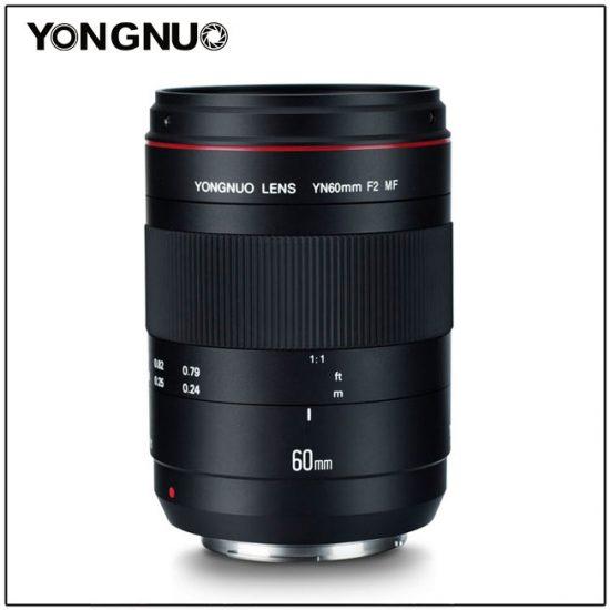 New: Yongnuo YN 60mm f/2 MF macro lens