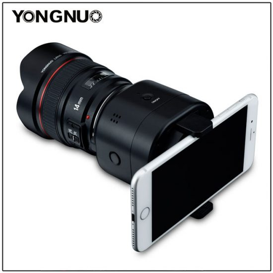 Yongnuo also has a new smartphone camera module (YN43)