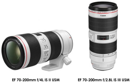 Leaked press release for the new Canon EF 70-200mm f/4L IS II USM and EF 70-200mm f/2.8L IS III USM lenses