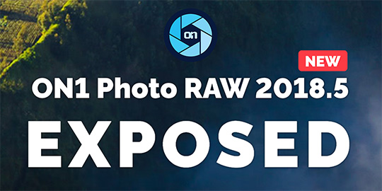 The new ON1 Photo RAW 2018.5 will be announced next week