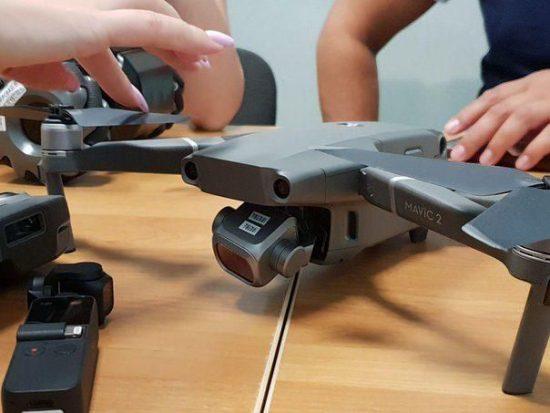 DJI Mavic 2 drone picture leaked online
