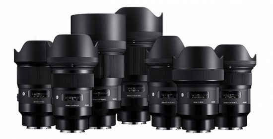 Sigma 14mm and 135mm f/1.8 Art lenses for Sony E-mount will be released on July 20th