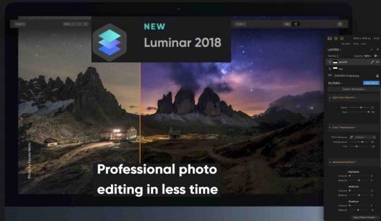 Skylum Luminar 2018 update 1.3.0 released