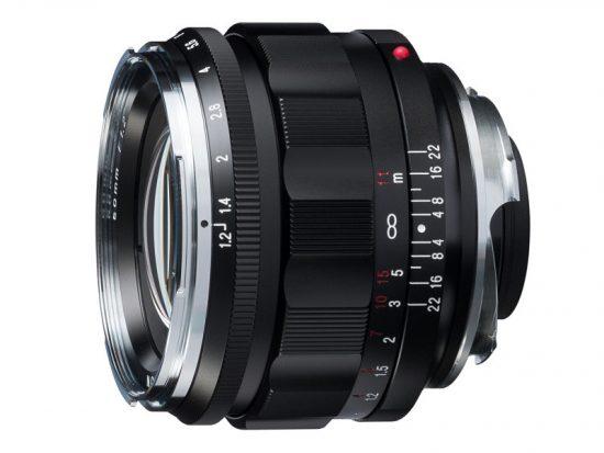 New Voigtlander NOKTON 50mm f/1.2 Aspherical VM lens announced