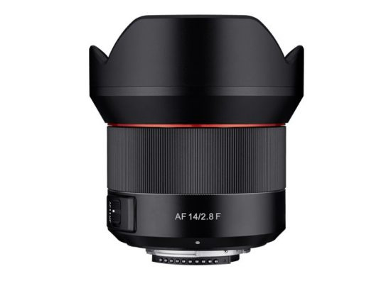 Samyang will start making autofocus lenses for Nikon F-mount (AF 14mm f/2.8)