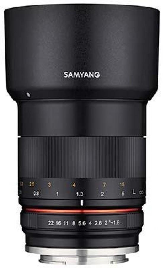 Samyang to announce a new MF 85mm f/1.8 ED UMC CS APS-C mirrorless lens