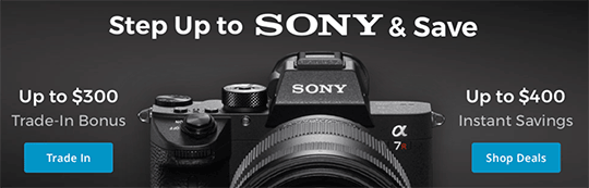 Check out all the latest Sony deals