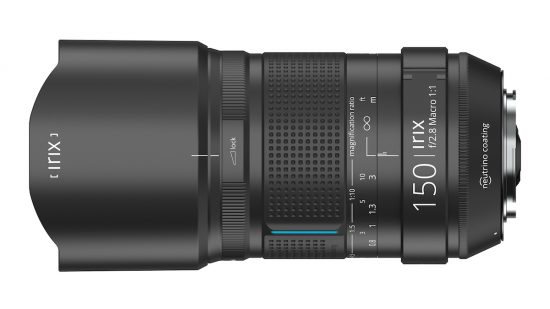 Irix 150mm f/2.8 MACRO 1:1 lens announced