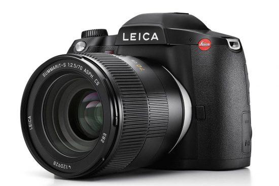 Leica S3 medium format camera leaked online