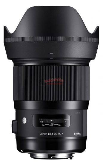 Leaked specifications of the upcoming five Sigma lenses
