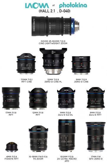Venus Optics to unveil 8 new Laowa lenses at Photokina