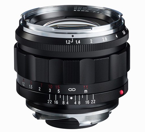 The new Voigtlander Nokton 50mm f/1.2 Aspherical VM lens now available for pre-order