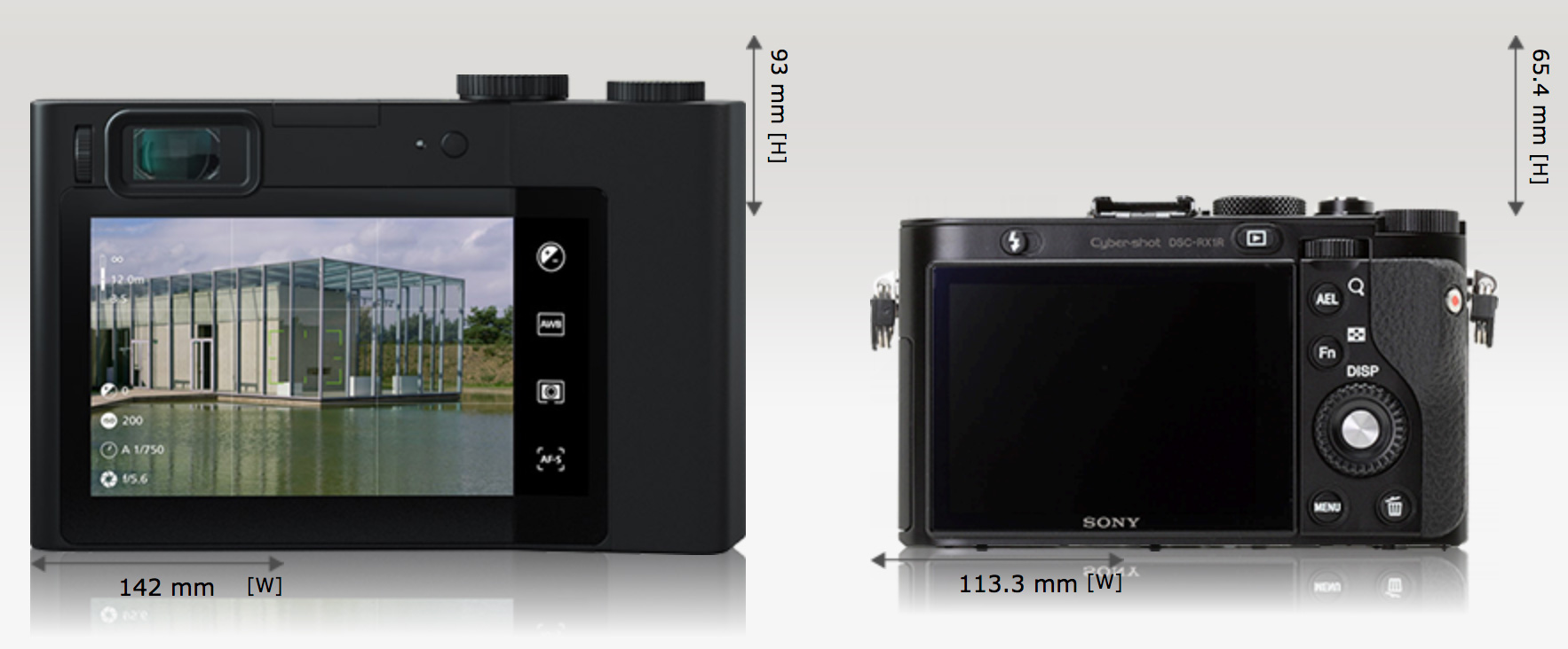 zeiss zx1 camera size comparisons hint its huge