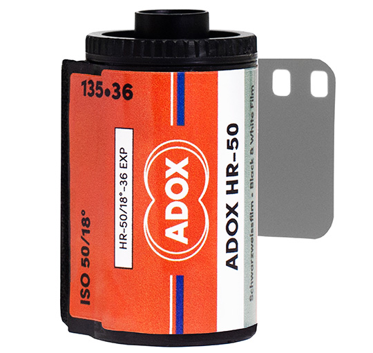 New ADOX HR-50 black and white film introduced