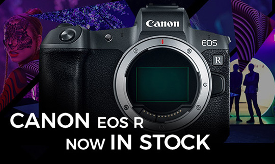 Canon EOS R mirrorless camera now in stock everywhere