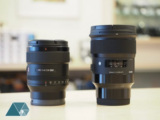 Sony FE 24mm f/1.4 GM lens now shipping