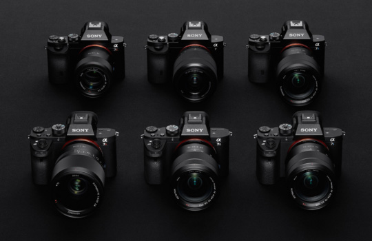 Sony E-mount was not designed for full-frame mirrorless cameras