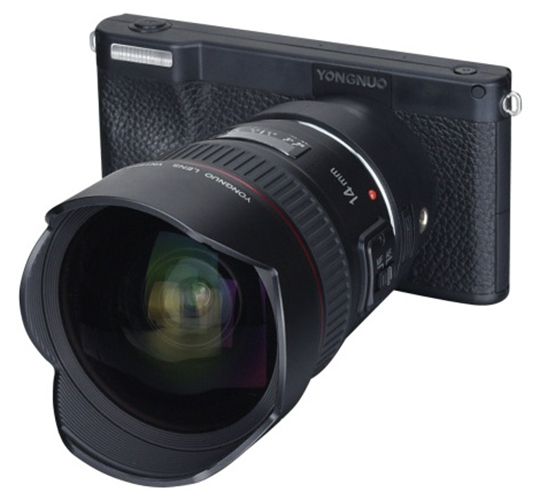 More info on the upcoming Yongnuo YN450 smart 4G mirrorless interchangeable lens Android-based camera