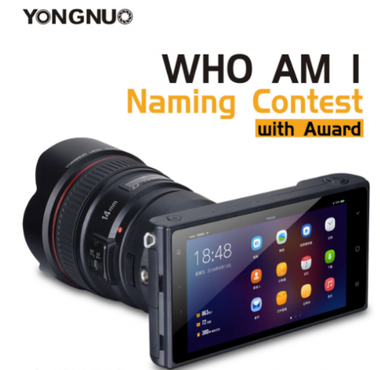 Yongnuo is teasing a new smart 4G mirrorless camera?