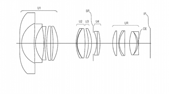 Canon RF 14-21mm f/1.55, 12-20mm f/2.0 and 16-32mm f/2.8 full-frame mirrorless lenses patented