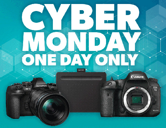 Cyber Monday photography deals