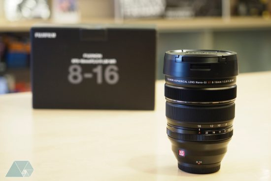 Fuji Fujinon XF 8-16mm f/2.8 R LM WR lens now shipping