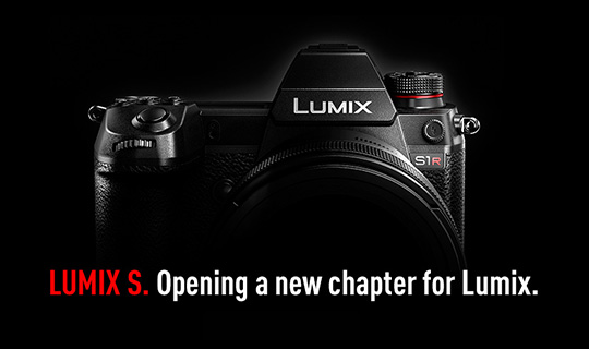 Panasonic Lumix ambassadors on the new Panasonic S full-frame mirrorless camera with L-mount