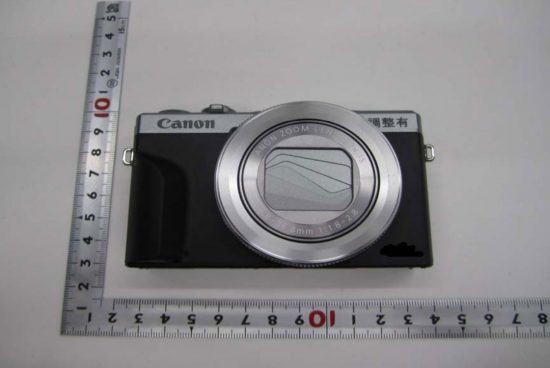 First pictures of the rumored Canon PowerShot G7 X Mark III camera
