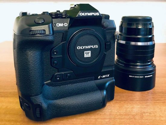 Is that the upcoming Olympus E-M1X camera?