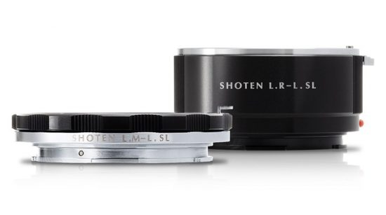 Shoten announced two new L-mount adapters (LM – LSL and LR – LSL)
