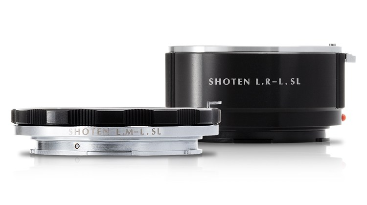 Shoten announced two new L-mount adapters (LM - LSL and LR