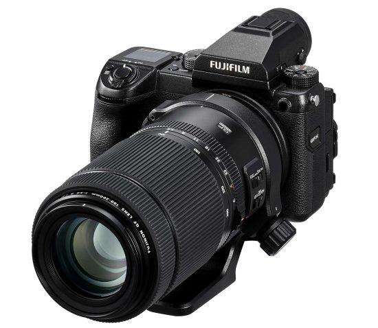 Fujifilm Fujinon GF 100-200mm f/5.6 R LM OIS WR medium format lens officially announced