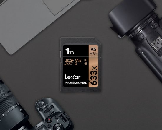 Lexar announces the world's first 1TB (terabyte!) 633x SDXC UHS-I memory card