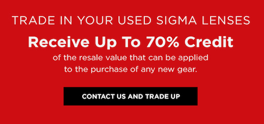 Sigma trade-in offer from Adorama