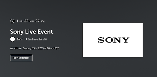 Sony announcement today: new APS-C mirrorless camera