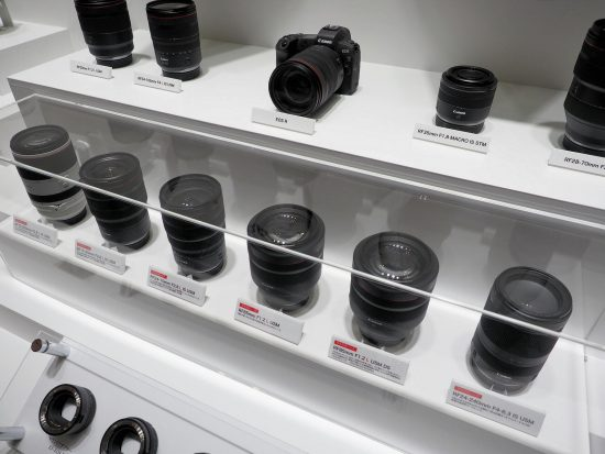 Canon RF mirrorless lenses