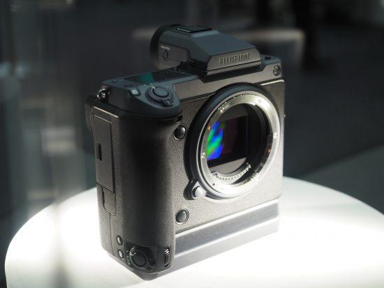 Fujifilm GFX 100 camera prototype
